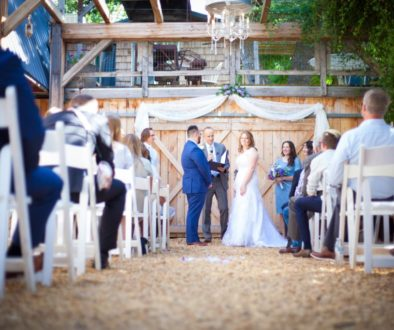 Vintage Wedding At Barbwire & Lace, Trent + Teirza