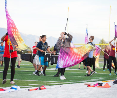 Copper Hills High School Marching Band, Preparing for Game Day