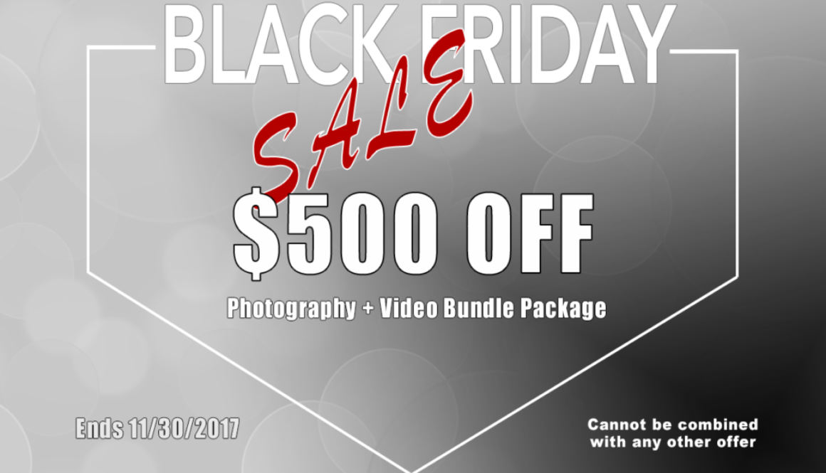 Black Friday Wedding Video And Photography Package