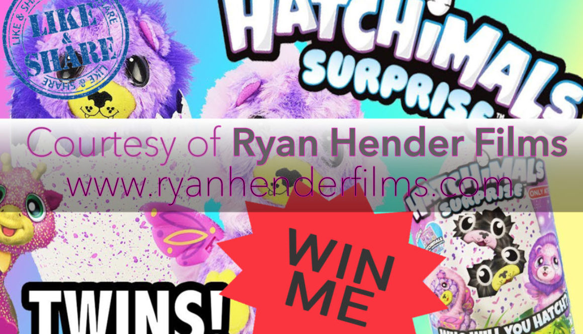 Christmas Hatchimals Give Away! Ryan Hender Films