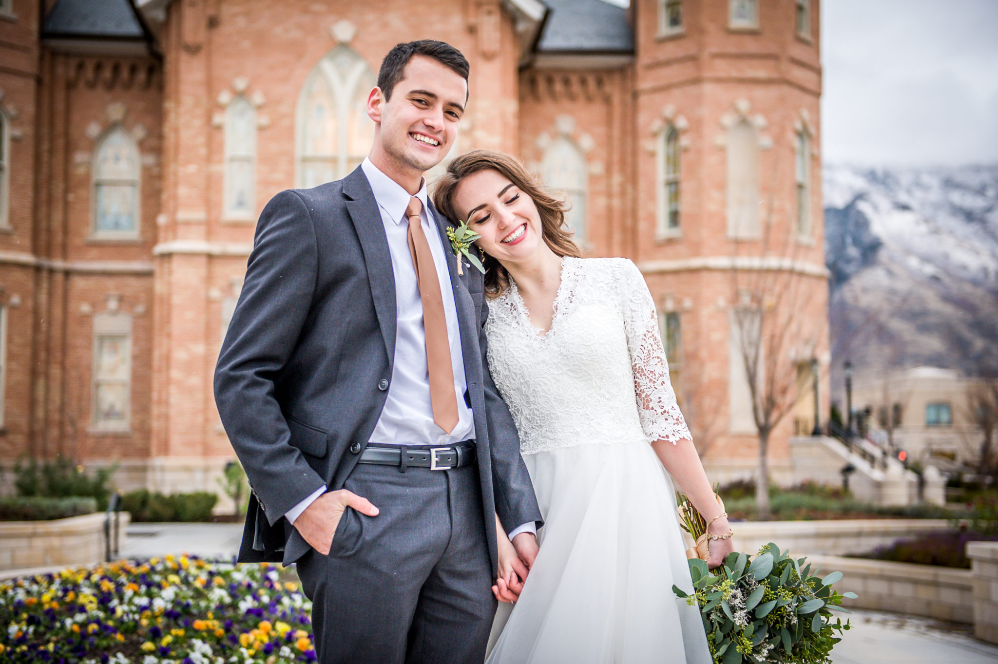 Wedding Video and Photography at Provo City Centre Temple Utah