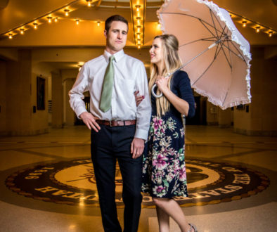 engagement photo shoot salt lake city utah capitol