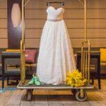 sal take city Hilton wedding photography shoot
