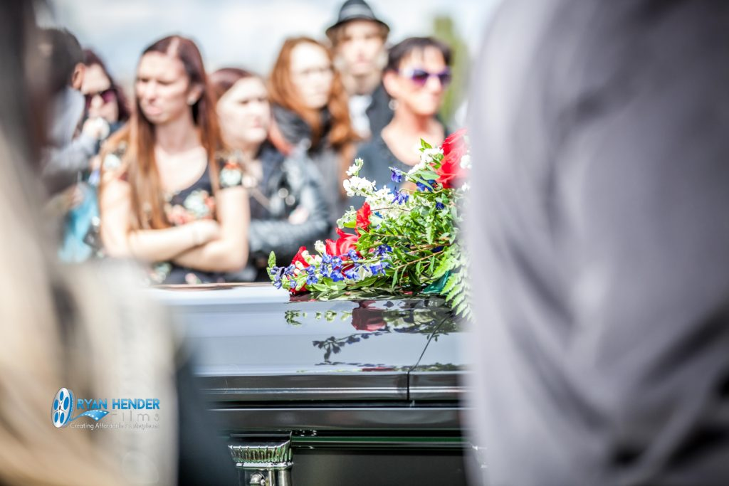 mom and brother funeral photography utah Ryan hender films