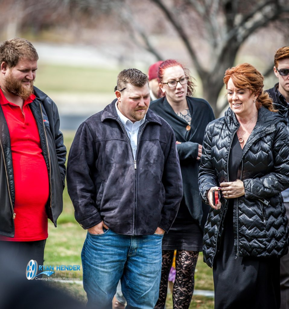 friends gathering funeral photography utah Ryan hender films