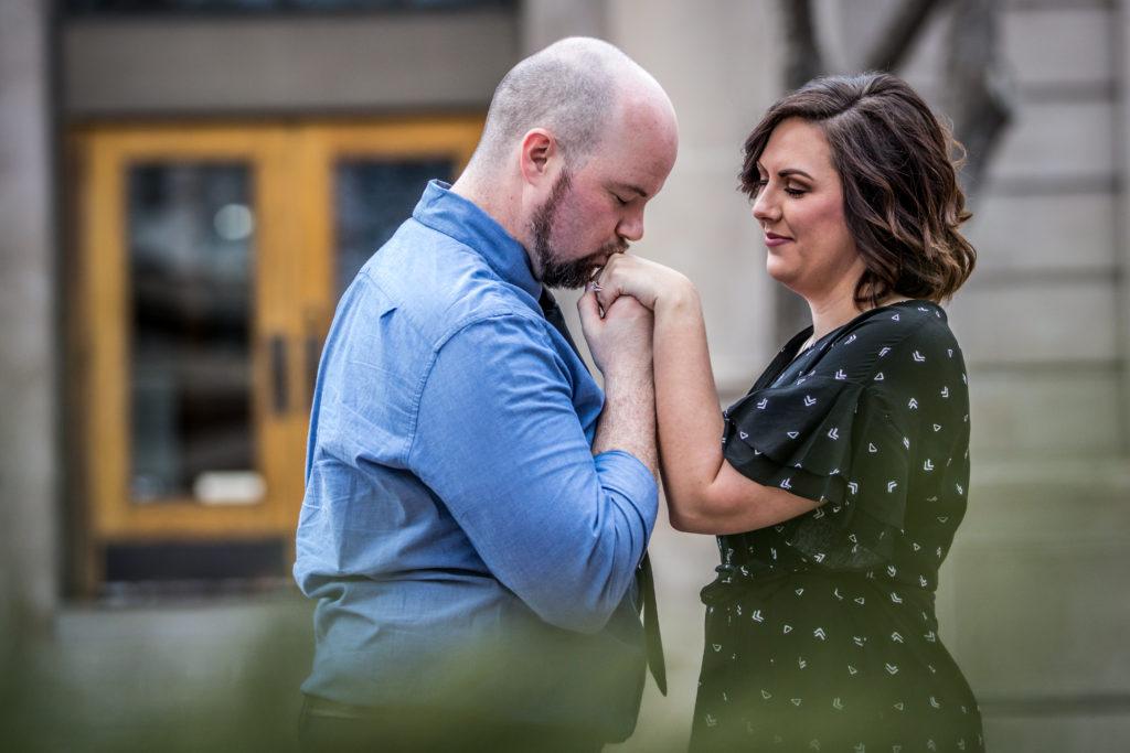 wedding engagements downtown salt lake city utah