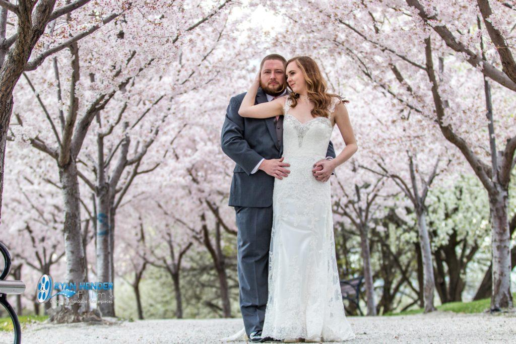 utah state capitol bridal photo shoot