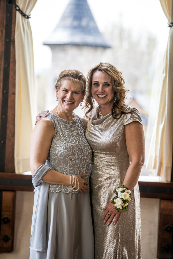 mother and grandma of bride wedding photography