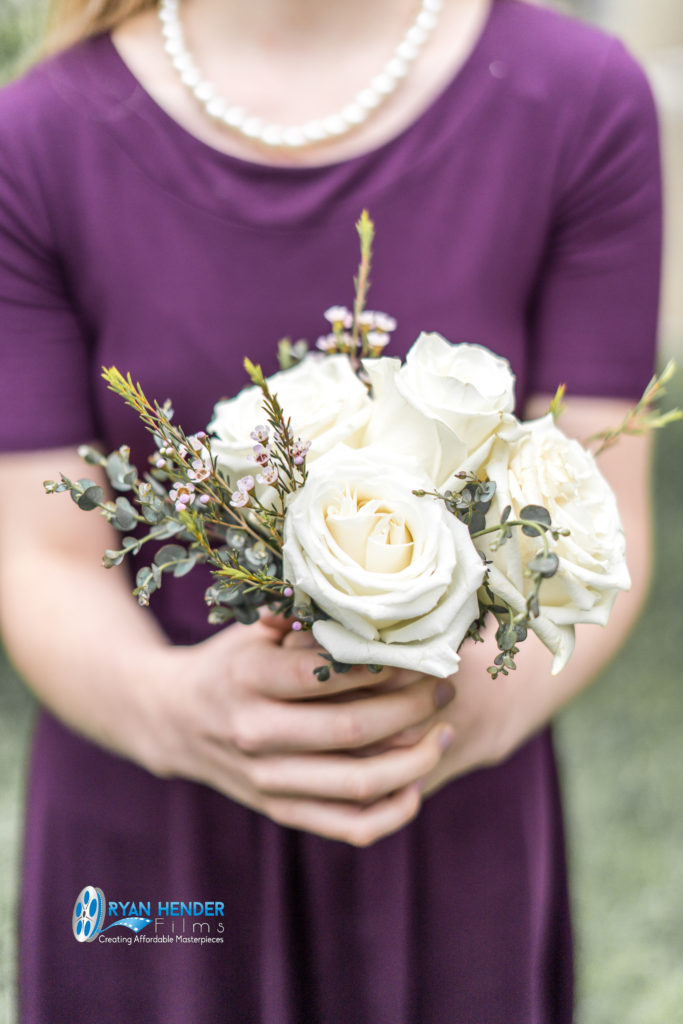 bridesmaid bouquet wedding photography utah