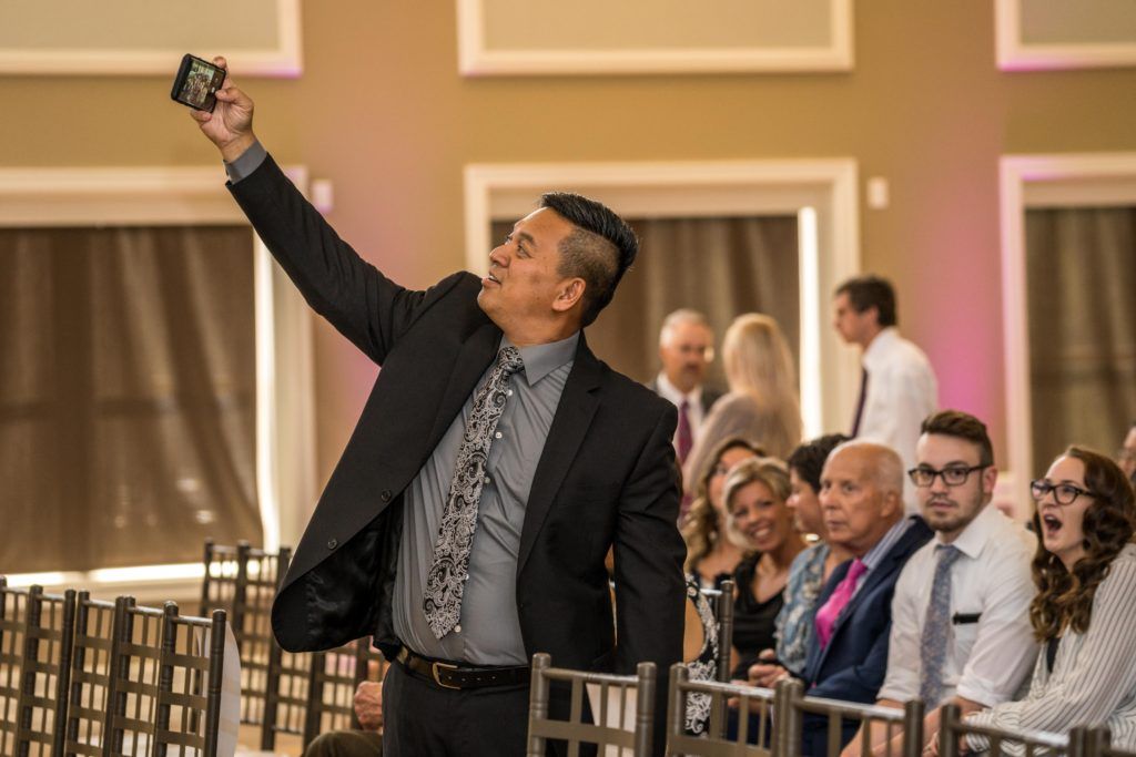 wedding selfie wedding photography Noah's event venue south Jordan utah