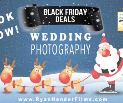 Black Friday Wedding Photography + Video Package 2018